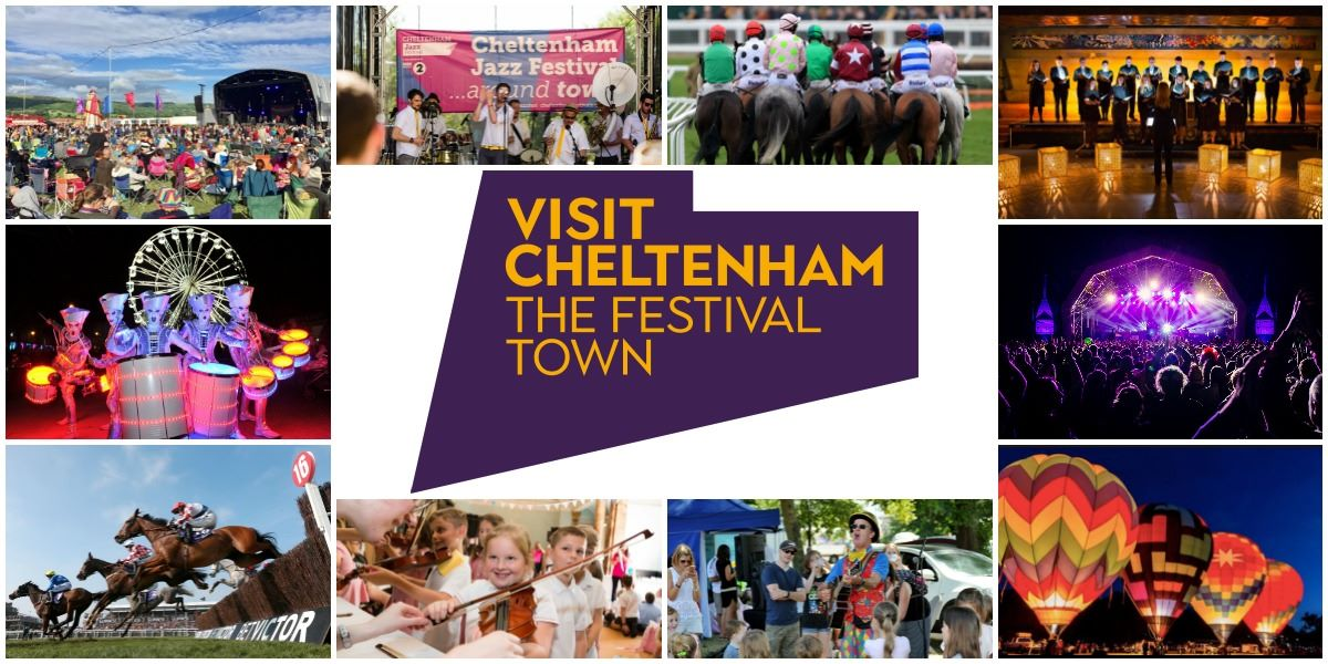 Collage of things to do in Cheltenham