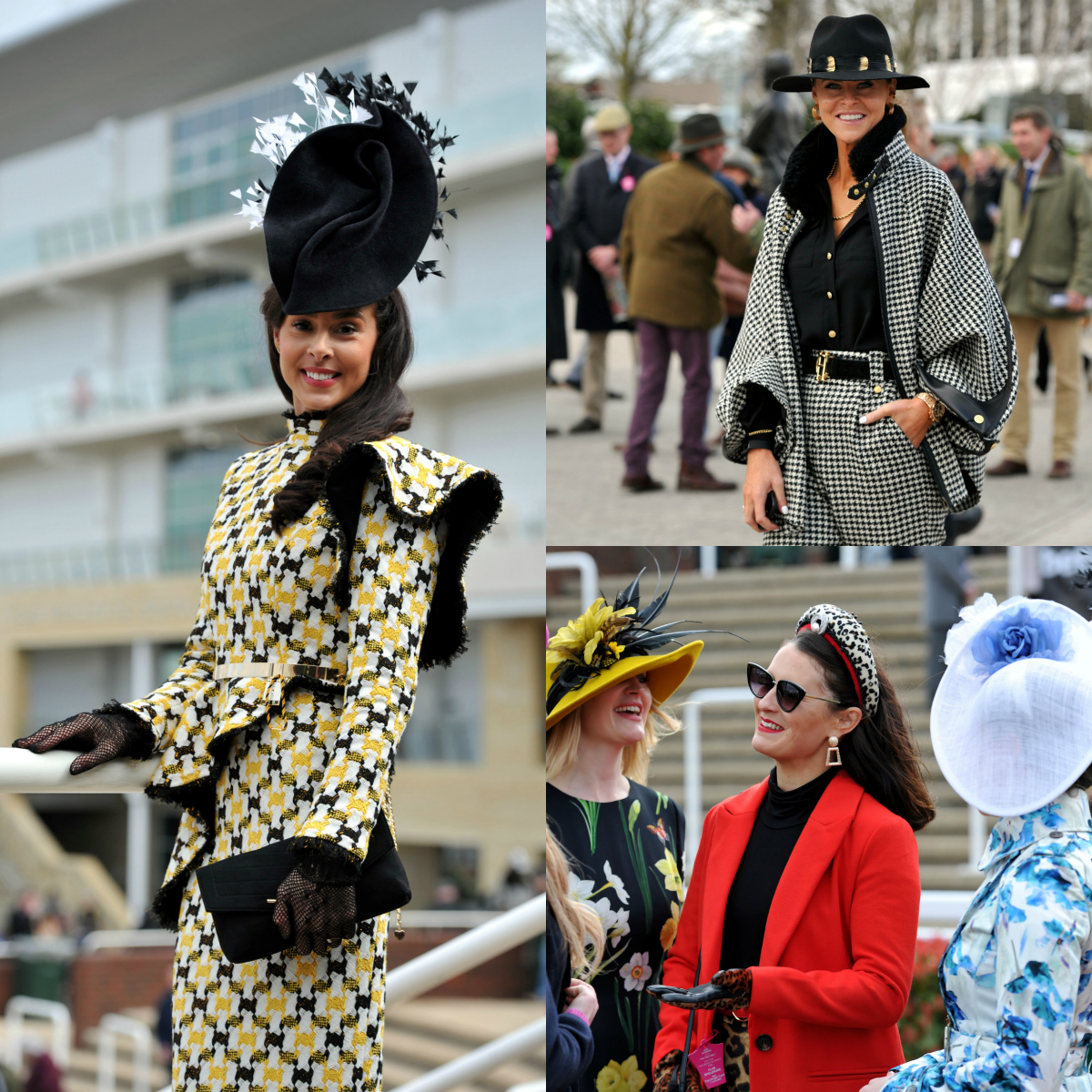 Celebs outfits at Ladies Day 2020 The Festival