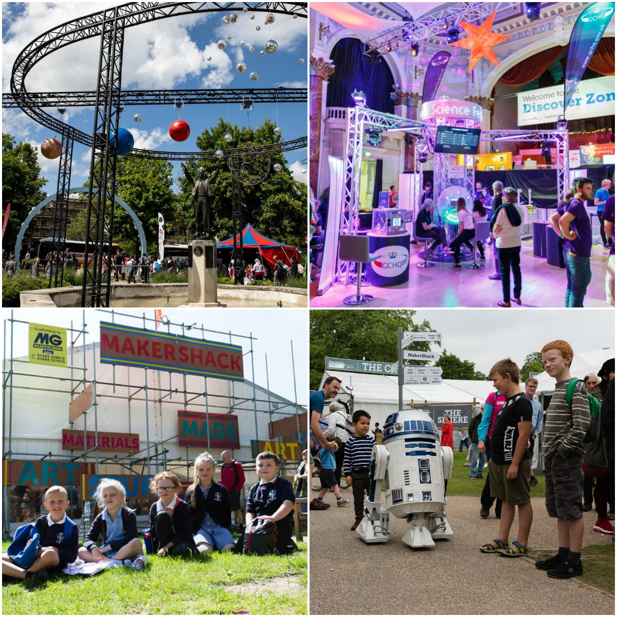 Images of previous Cheltenham Science Festivals