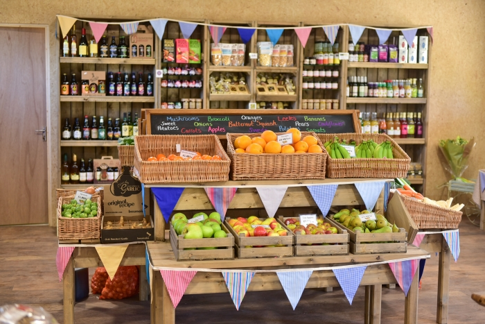 Court Farm shop groceries delivery service and click and collect Cheltenham