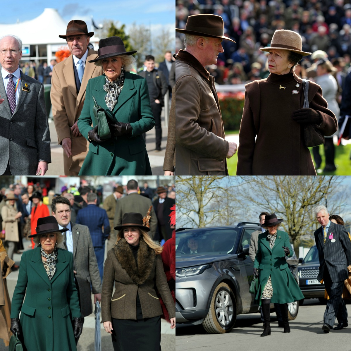 Duchess of Sussex and Princess Anne Ladies Day The Festival 2020