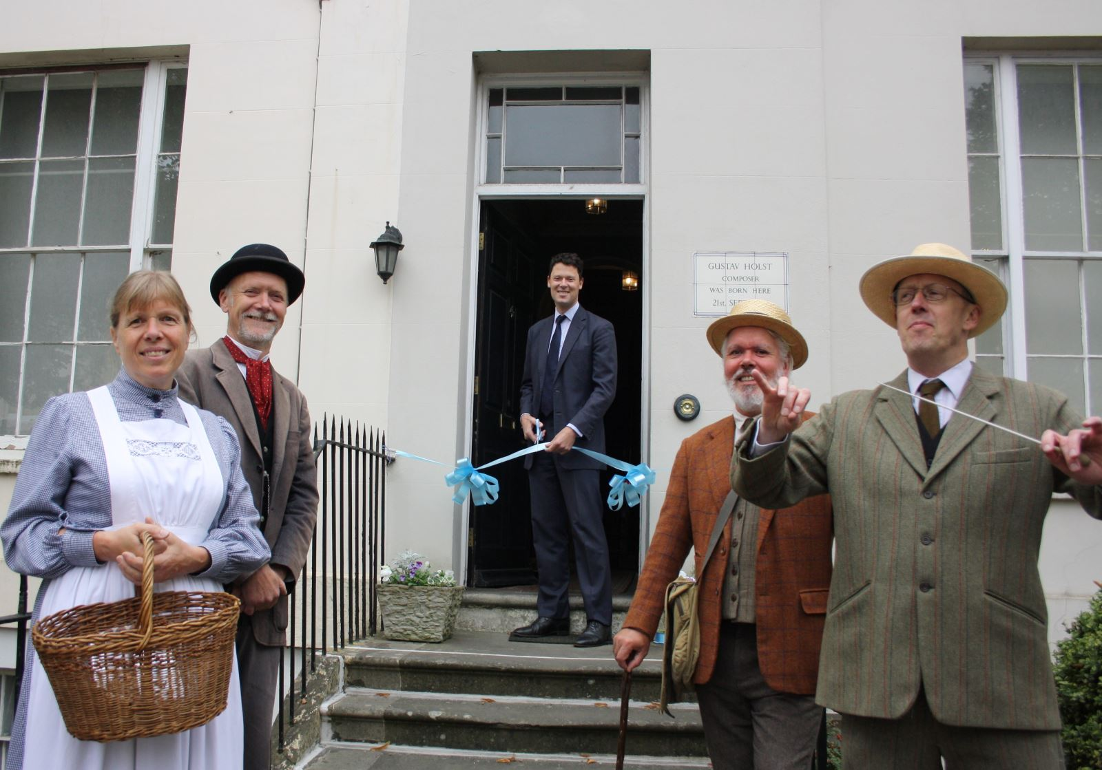 Holst birth place museum reopening celebration