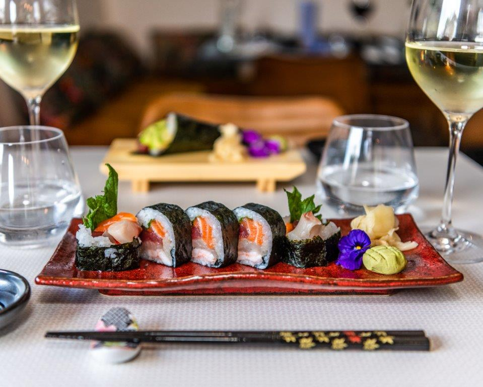 Delicious food and wine at KIBOU Cheltenham