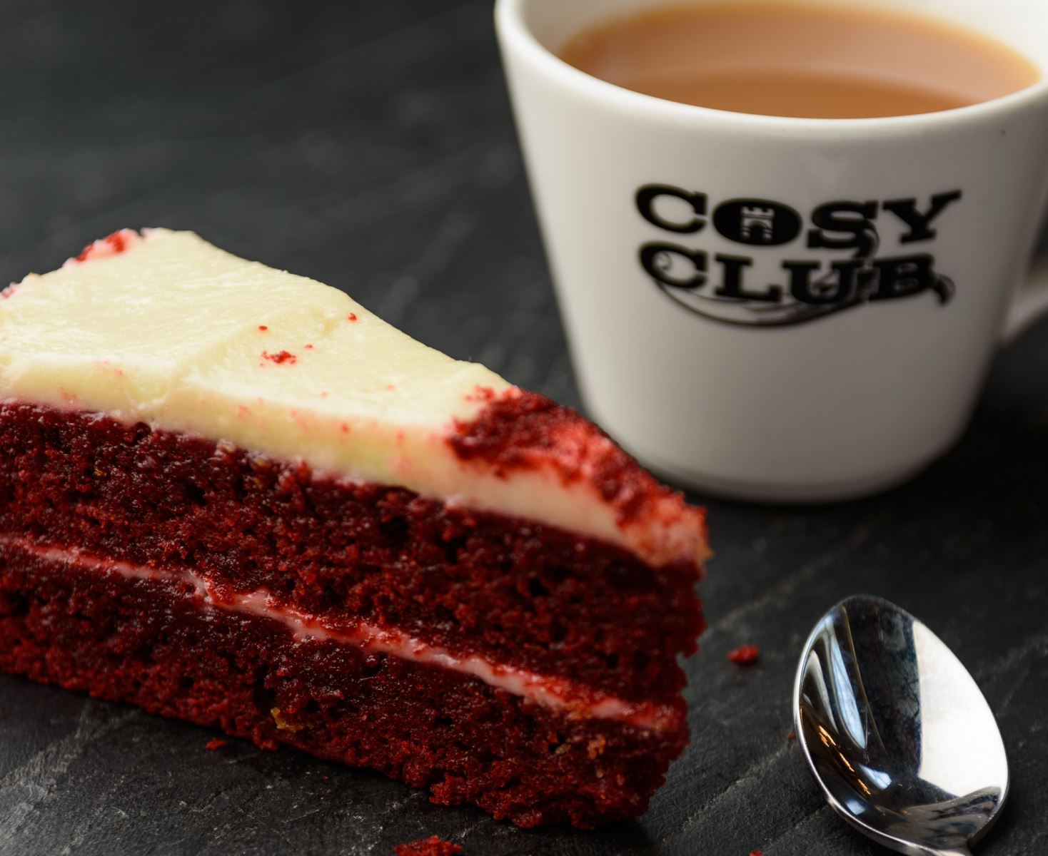 Cake at The Cosy Club