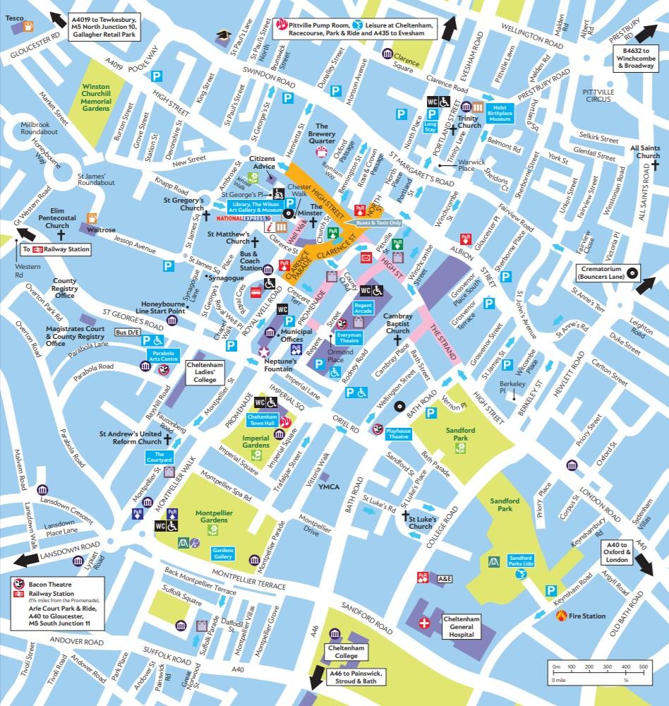 London Street Map Pdf Free Download.Map Of Cheltenham Visit Cheltenham