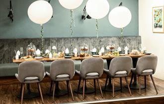 Private Dining room at The Find
