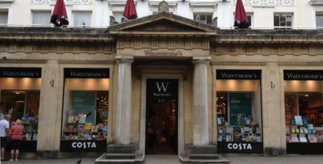 Waterstones Cheltenham Shopping