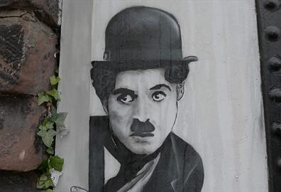 Charlie Chaplin Mural: Much loved artwork given some TLC