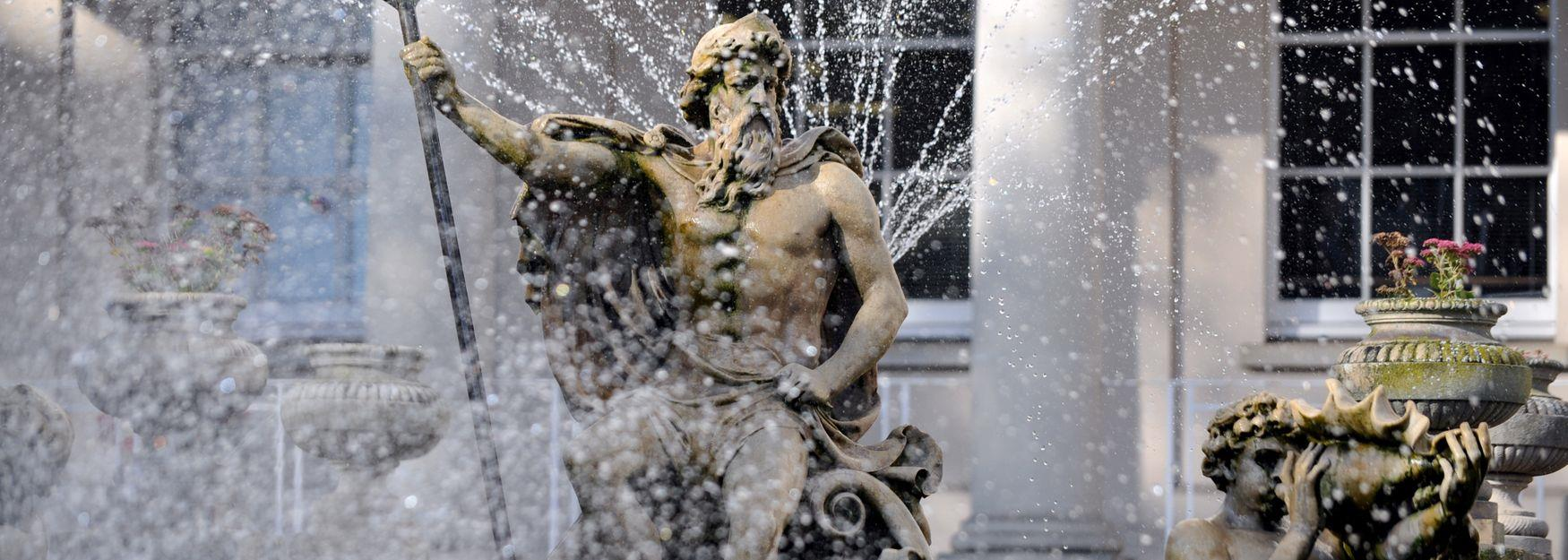 Neptune's Fountain - Water Feature on The Promenade