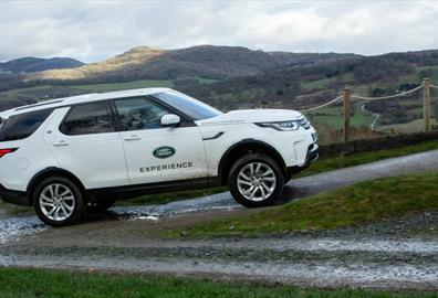 A Santa Special with the Jaguar Land Rover Experience