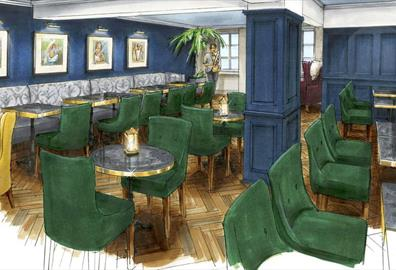 Coming Soon; Memsahib Gin & Tea Palace