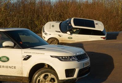Off road heaven at Land Rover Experience Eastnor