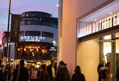 Urban Outfitters opens at The Brewery Quarter