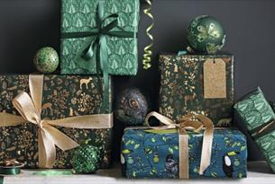 Christmas, festive, wrapping, masterclass.