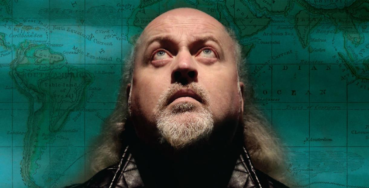 Bill Bailey at Cheltenham Racecourse