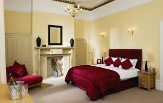 Relax, sleep & eat at The Cheltenham Townhouse