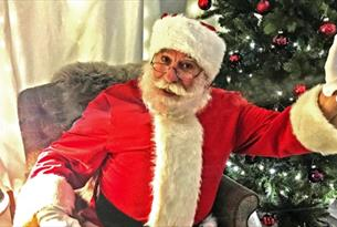 Grotto, Christmas, Santa, Father Christmas