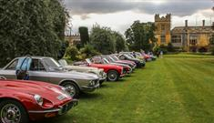 Classic Car Rally Sudeley Castle
