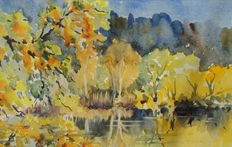 Cheltenham Art Club Watercolour Demonstration