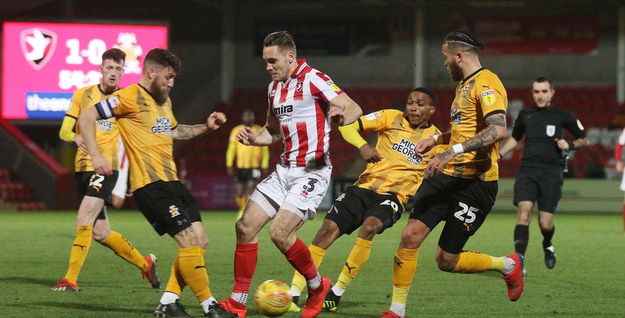 Cheltenham Town vs Cambridge United