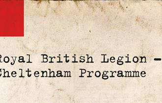 WW1 - Royal British Legion Programme