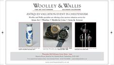 Woolley and Wallis Antiques Valuation Event