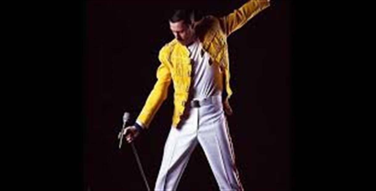 Valentine's Day 3-course meal with a Freddie Mercury tribute act