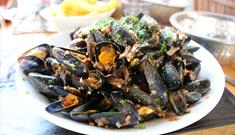 Moules-Frites for Lunch Time