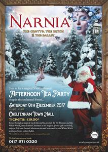 Narnia afternoon tea at Cheltenham Town Hall